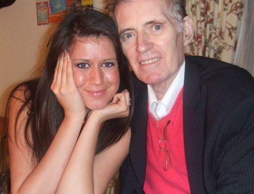 Jade with her grandad